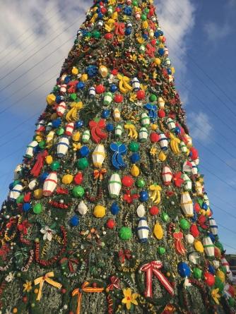 Weihnachtsbaum vom Nahen