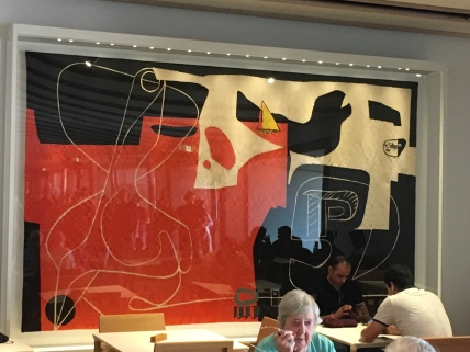 Wandteppich von Le Corbusier