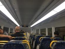 Zug von innen