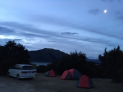 Outlet Camping in Wanaka