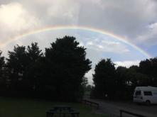 Regenbogen über Donnelys Crossing