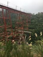 Eisenbahnbrücke in Erua