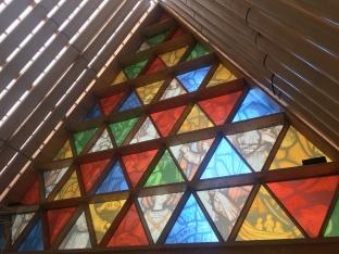 Ersatzkathedrale Christchurch Glasfenster