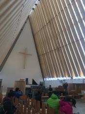 Ersatzkathedrale Christchurch Innenraum
