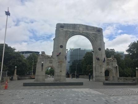Tor zum Gedenken an die Gefallenen im 1. Weltkrieg in Christchurch