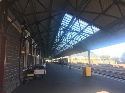 Bahnsteig Bahnhof Dunedin