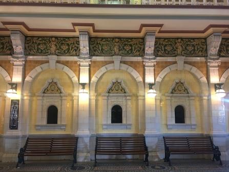 Innenraum Bahnhof Dunedin