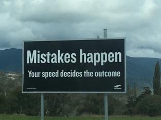 Fehler passieren - dein Tempo bestimmt den Ausgang