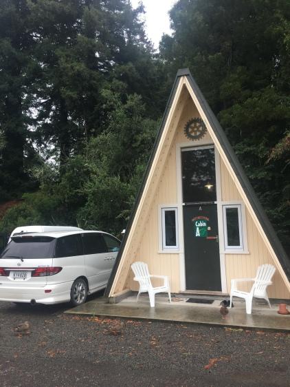 Dannevirke, Cabin im Regen