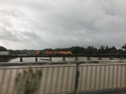 Güterzug in Waipawa