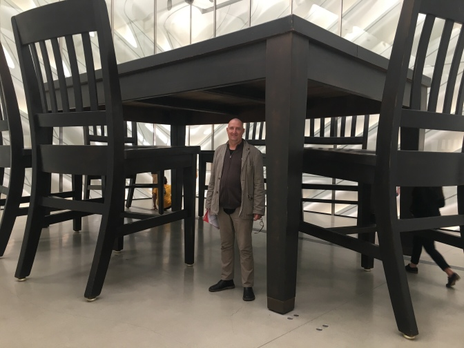 Robert Therrien - Under the Table