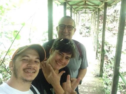 Wir mit Gustavo