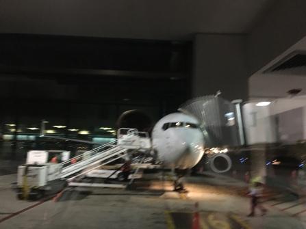 Verspätete Landung in San Jose