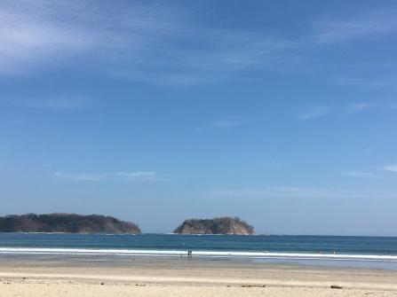 Isla Chora vor dem Strand von Sámara