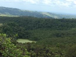 natürlicher Tümpel am Fuß des Arenals