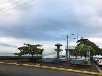 Ausblick vom Parkhotel in Limon