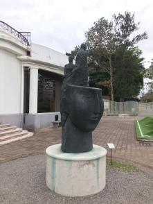 Cabeza pensamiento II von Crisanto Badilla Argüello