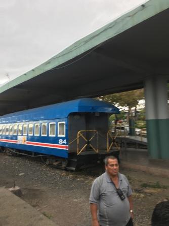Bahnsteig am Pazifischen Bahnhof
