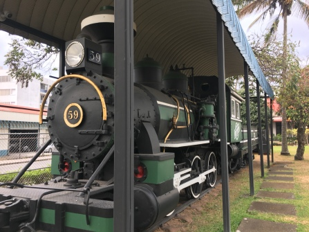 Museumslok am Atlantischen Bahnhof