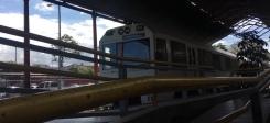 Einfahrender Triebwagen aus Kartago