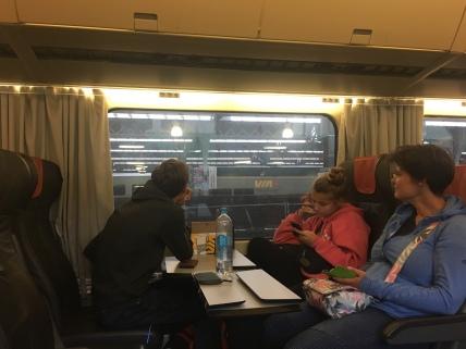 VIA Rail Zug nach Ottawa