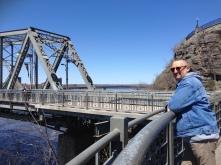 Brücke über den Ottawa River nach Gatineau in der Provinz Quebec