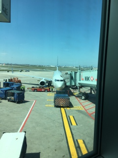 Ankunft in Toronto Pearson Airport