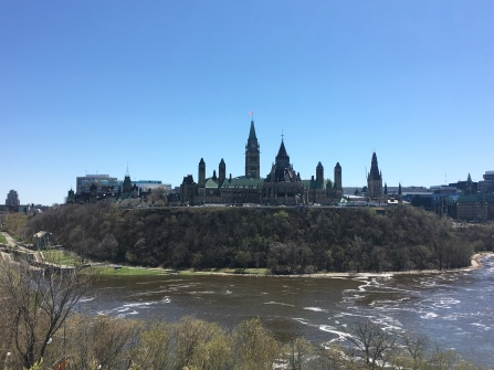 Kanadisches Parlament in Ottawa