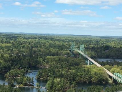 Brückenteil auf kanadischer Seite
