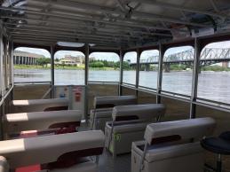 Im Aquataxi auf dem Ottawa River