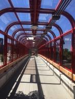 Umstiegsbrücke Lincolnfield Station