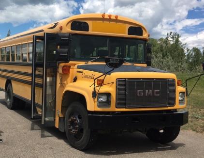 Nordamerikanischer Schulbus